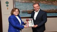 Başkan Seçer, Fatma Şahin'i ağırladı