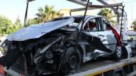 Özel harekat polisleri kaza yaptı: 4 yaralı