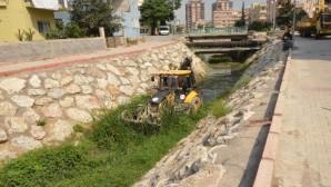 Tarsus'ta dere ıslah çalışması