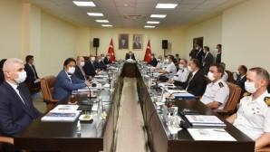 Bakan Soylu'nun başkanlık ettiği Mersin'deki güvenlik toplantısı sona erdi