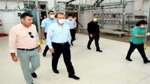 Başkan Seçer, şehit aileleri için kurban kesti