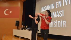 Yenişehir Belediyesinden kadınlara yakın savunma eğitimi