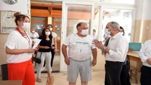 Başkan Bozdoğan, korona virüs denetimlerine katıldı