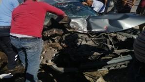 Tarsus'ta 2 ayrı kazada 5 kişi yaralandı