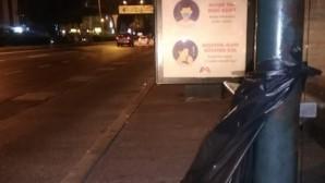 Gitti çöp tenekeleri, geldi çöp poşetleri