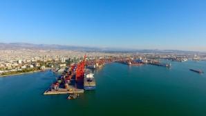 Mersin Limanı'nın konvansiyonel kargo hacmi yüzde 5.5 arttı