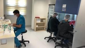 MEÜ Covid-19 laboratuvarından yüzde 100'lük başarı