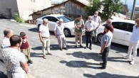 Tarsus'ta bozuk yollar onarılıyor