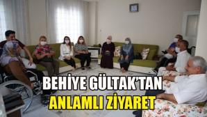 Başkan Gültak'ın eşi Behiye Gültak, şehit ailelerini ziyaret etti