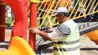 Toroslar'da parklar yenileniyor