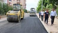 Toroslar'da yol yapım ve onarım çalışmaları sürüyor