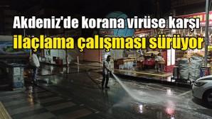 Akdeniz Belediyesi tedbiri elden bırakmıyor