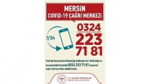 Mersin'de Covid-19 çağrı merkezi hizmete girdi
