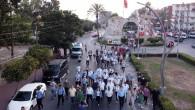 Tarsus'ta 'Turizm Rotası Yürüyüşü' gerçekleştirildi