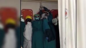 Ankara'da sağlık çalışanlarına saldırı