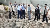 Vali Su, Aratos Anıt Mezarında incelemelerde bulundu