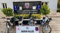 Erdemli'de motosiklet hırsızları yakalandı