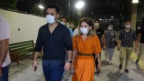 Balayından dönen avukat çifte trafikte sözlü silahlı tehdit