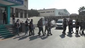 Mersin'deki tefeci operasyonunda 14 kişi tutuklandı