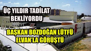 Nihayet Tarsus 75. Yıl Kültür Merkezi, yeniden hizmete açılacak