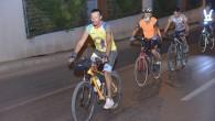 Yenişehir'de pedallar sıfır emisyon için çevrildi