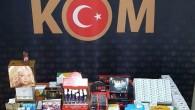 Tarsus'ta cinsel içerikli ürün ele geçirildi