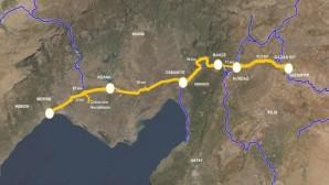 Elvan, Mersin-Adana-Gaziantep Hızlı Tren Hattının ihalesinin yapıldığını açıkladı