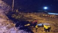 Erdemli'de kamyonet sahile uçtu: 1 ölü, 4 yaralı