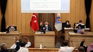 Akdeniz Belediyesinin 2021 yılı mali bütçesi kabul edildi