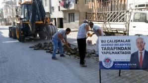 Akdeniz'de üst yapı çalışmaları devam ediyor