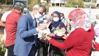 Tarsus Belediyesinin tohum takasıyla 1 milyon tohum el değiştirdi