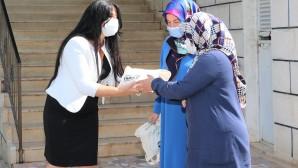 Toroslar'da camilere hijyen desteği