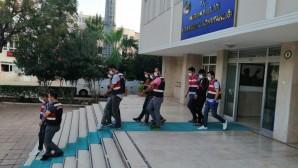 Kırsaldan gelen 4 terör örgütü üyesi Tarsus'ta yakalandı