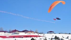 Toroslar'a ilk kar düştü, festival heyecanı arttı