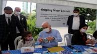 Başkan Gültak, lösemili çocuklarla birlikte maske yaptı