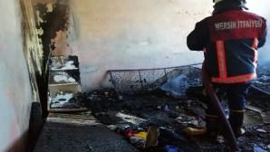 Tarsus'ta 2 ayrı yerde yangın çıktı