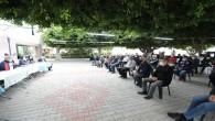 Mezitli'de siteler deprem için toplandı