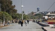 Mersin'de yazdan kalma günler yaşanıyor
