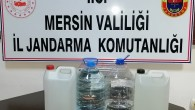 Mersin'de 13 litre sahte içki ele geçirildi