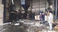 50 ton pamuk yandı kül oldu