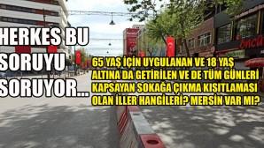 İŞTE O İLLER