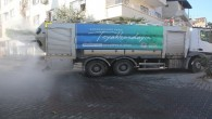Akdeniz'in her noktası dezenfekte ediliyor