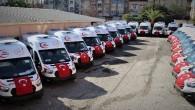 Mersin, 24 yeni ambulansa kavuştu