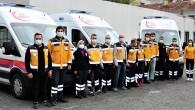 Üç adet yeni doğan ambulansı hizmete girdi
