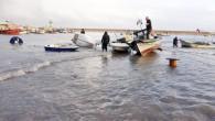Mersinli balıkçılar fırtına nöbeti tuttu