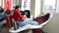 Tarsus Belediyesi çalışanları ve vatandaşlardan kan bağışı