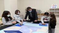 Yenişehir Belediyesinden çocuklara 'robotik kodlama eğitimi'