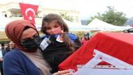 Gara şehidi polis memuru Mersin'de son yolculuğuna uğurlandı