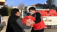 Yenişehir Belediyesi 150 ton soğan dağıttı