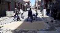 Akdeniz'de yol ve kaldırım çalışmaları kesintisiz sürüyor